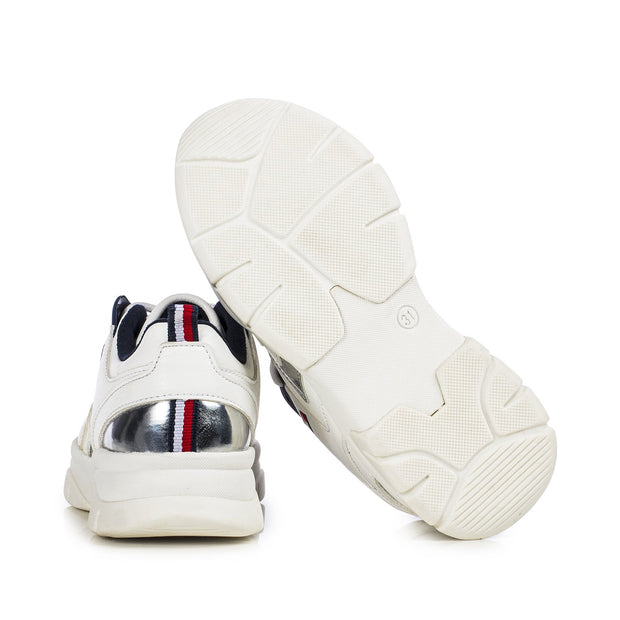 Sneakers Tommy Hilfiger bianche fondo chunky