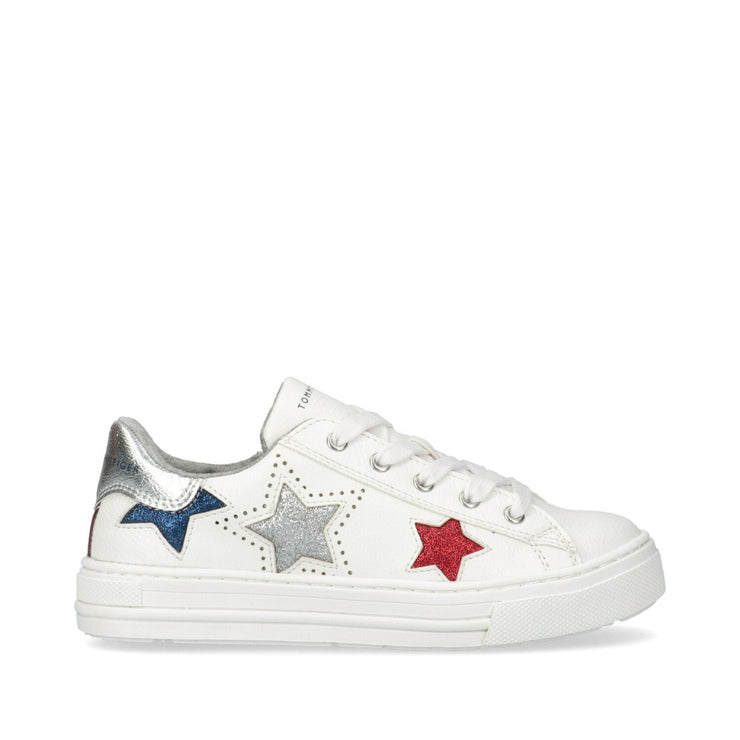 Sneakers con stelle brillanti