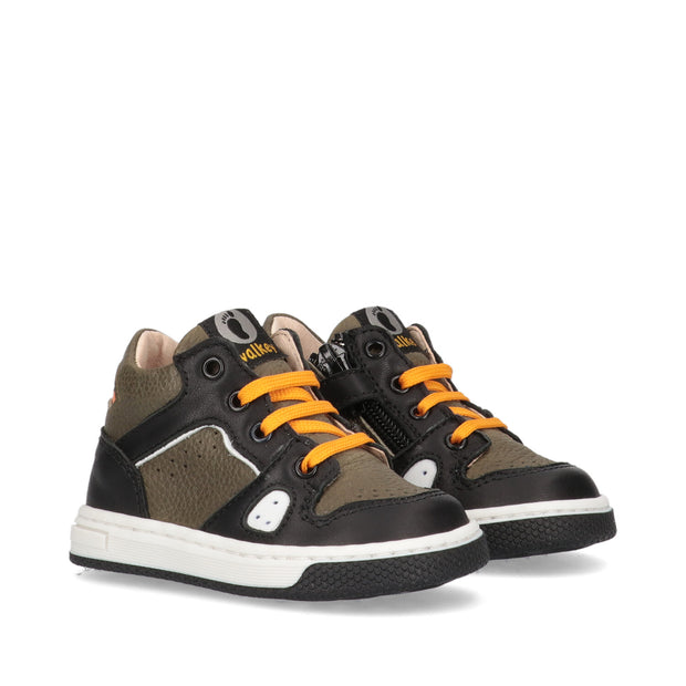 Sneakers Walkey in pelle multicolor