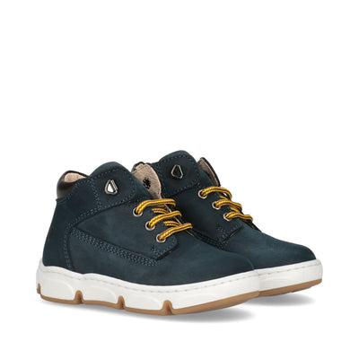 Sneakers Walkey in nabuk blu Y1B4-40850-0121X613
