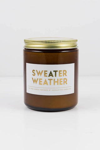 Holiday Candle // Sweater Weather 8oz