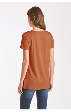 JULIA TWIST KNOT TEE
