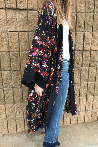 CAIRO FLORAL DUSTER