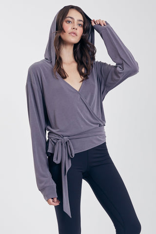ANNALISE L/S WRAP TOP