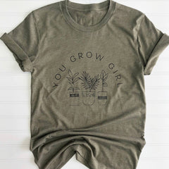 YOU GROW GIRL GRAPHIC T
