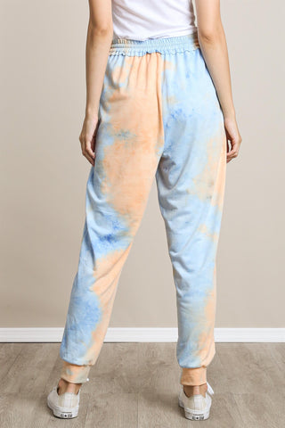 TIE DYE JOGGERS WITH POCKETS