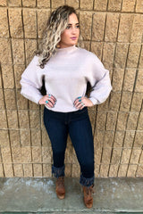 DAISY SOFT TURTLE NECK SWEATER