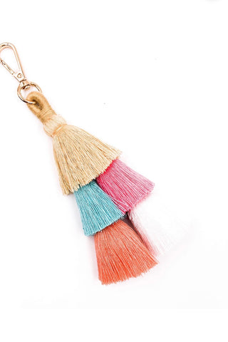 HANDBAG TASSLE/KEY CHAIN