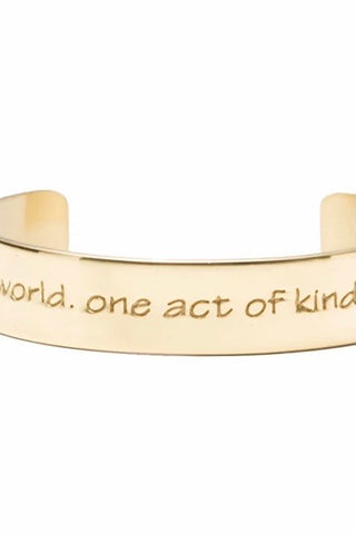 CHANGE THE WORLD ONE ACT OF KINDNESS AT A TIME