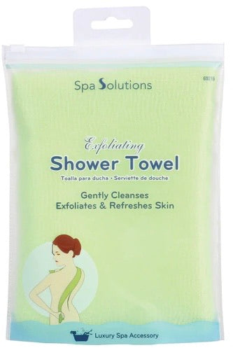 EXFOLIATING SHOWER TOWEL