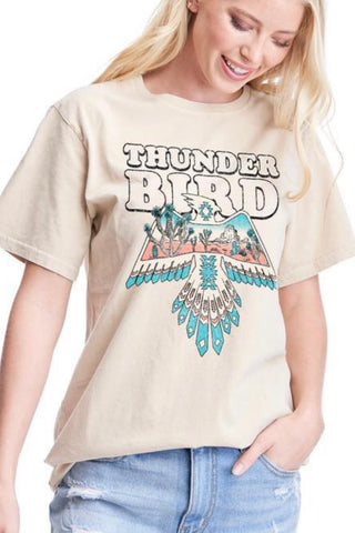 THUNDER BIRD GRAPHIC TEE