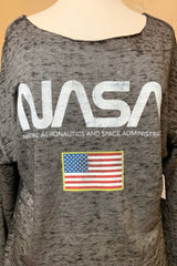 NASA BELL SLEEVE PULLOVER