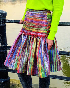 The 'Somewhere Over The Rainbow' skirt