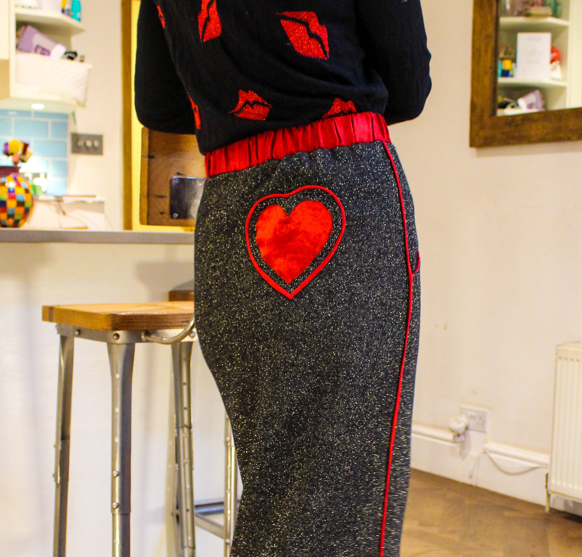 The 'Hygge Heart' Skirt