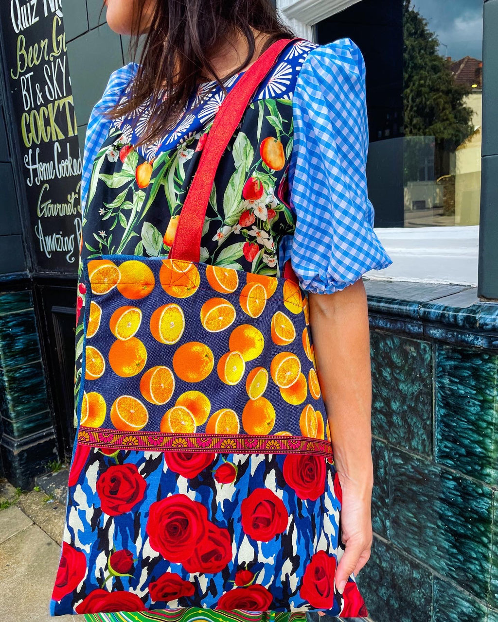 The 'Sunshine on my Shoulders' tote bag