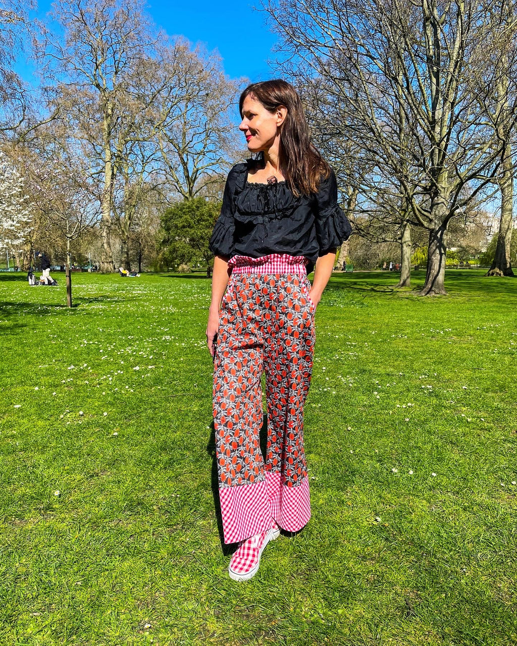 The 'Bottle Brush' trousers