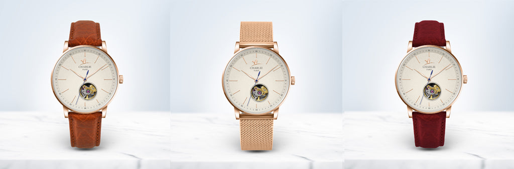 Charlie Watch - Initial 36 女士机械表
