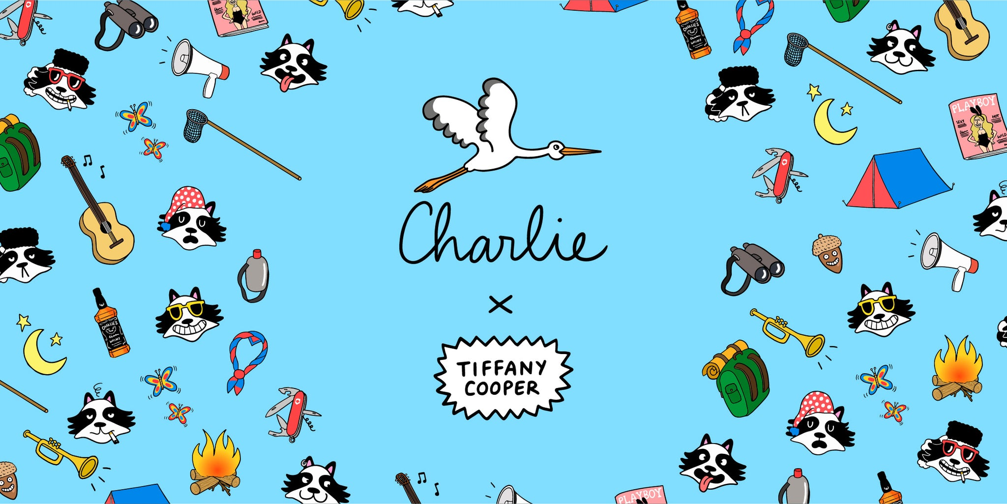 charlie watch x tiffany cooper