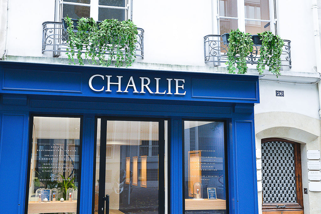 charlie watch paris boutique