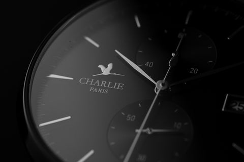 montre chronographe charlie watch