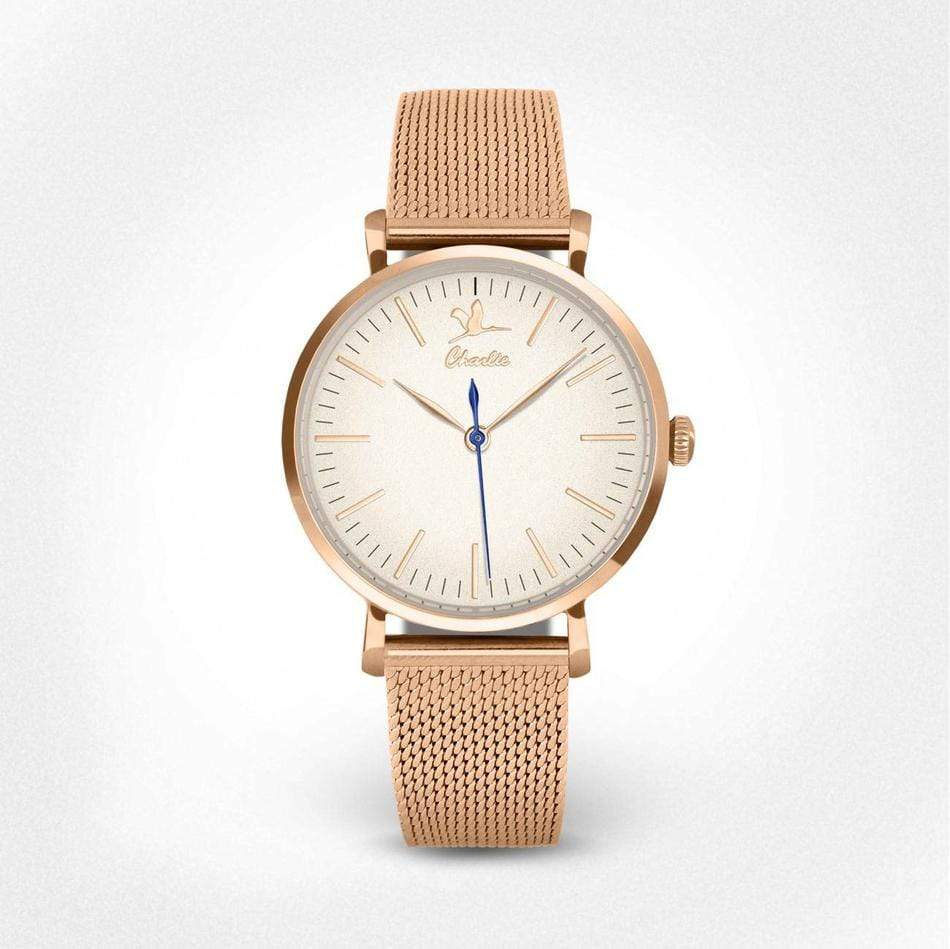 rose gold watch woman