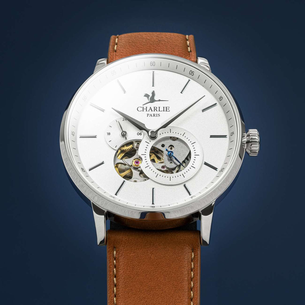 men's heartbeat automatic watch