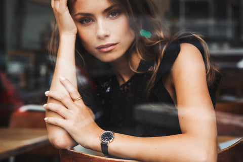 montre charlie watch sully noir