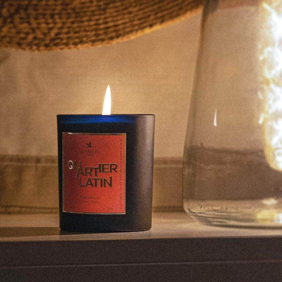 Scented Candle I Cypress Pepper I Latin Quarter