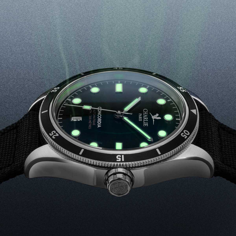 Concordia - Automatic - Black - Charlie Paris