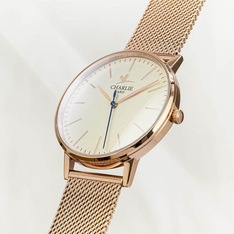 The Solar Watch - Rose Gold