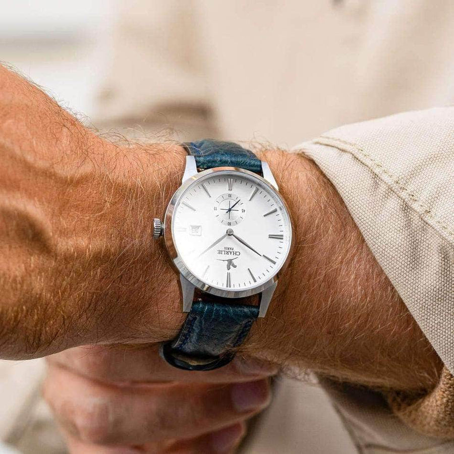Bastille B4.6 - Blanc - Montre homme & montre femme - Automatique & quartz - Made in France