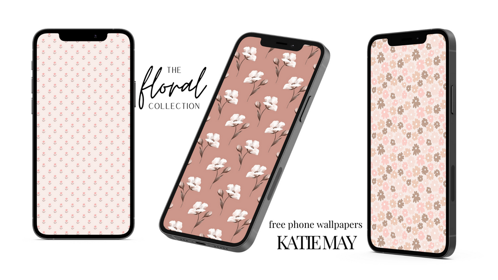 Desktop & Phone Wallpapers: The Floral Collection