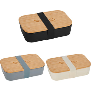 Bamboo Fiber Lunch Box w/ Cutting Board Lid