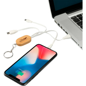 Bamboo 3-in-1 Charging Cables