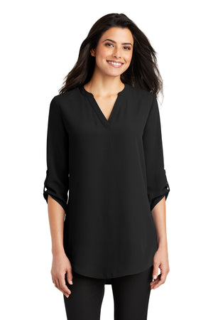 Port Authority® Ladies 3/4 Sleeve Tunic Blouse