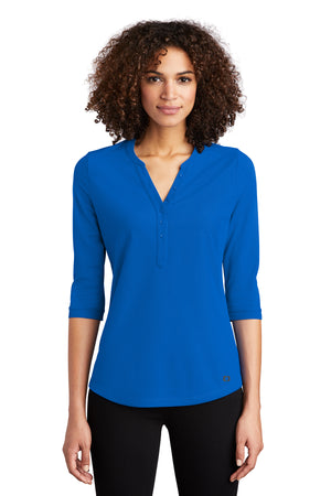 OGIO® Ladies Jewel Henley