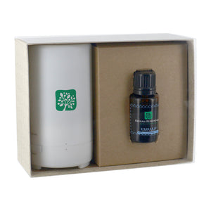 Electronic Diffuser & 15mL Dropper Bottle Essential Oil In Gift Box