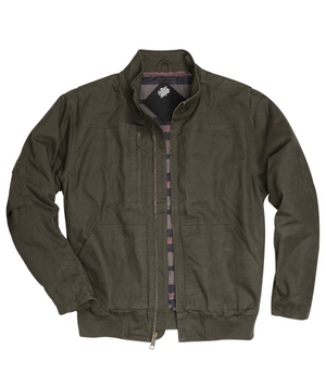 Dri Duck® Men's Force Canvas Bomber Jacket