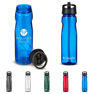 Columbia® 25 fl oz Tritan Water Bottle With Straw Top