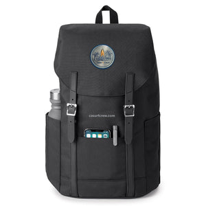 Recycled Water Bottle Flip-Top Backpack