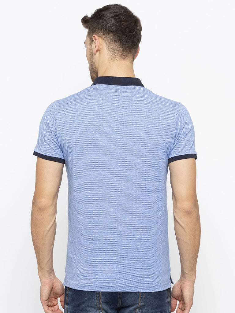 Polo T-Shirt With Contrast Collar