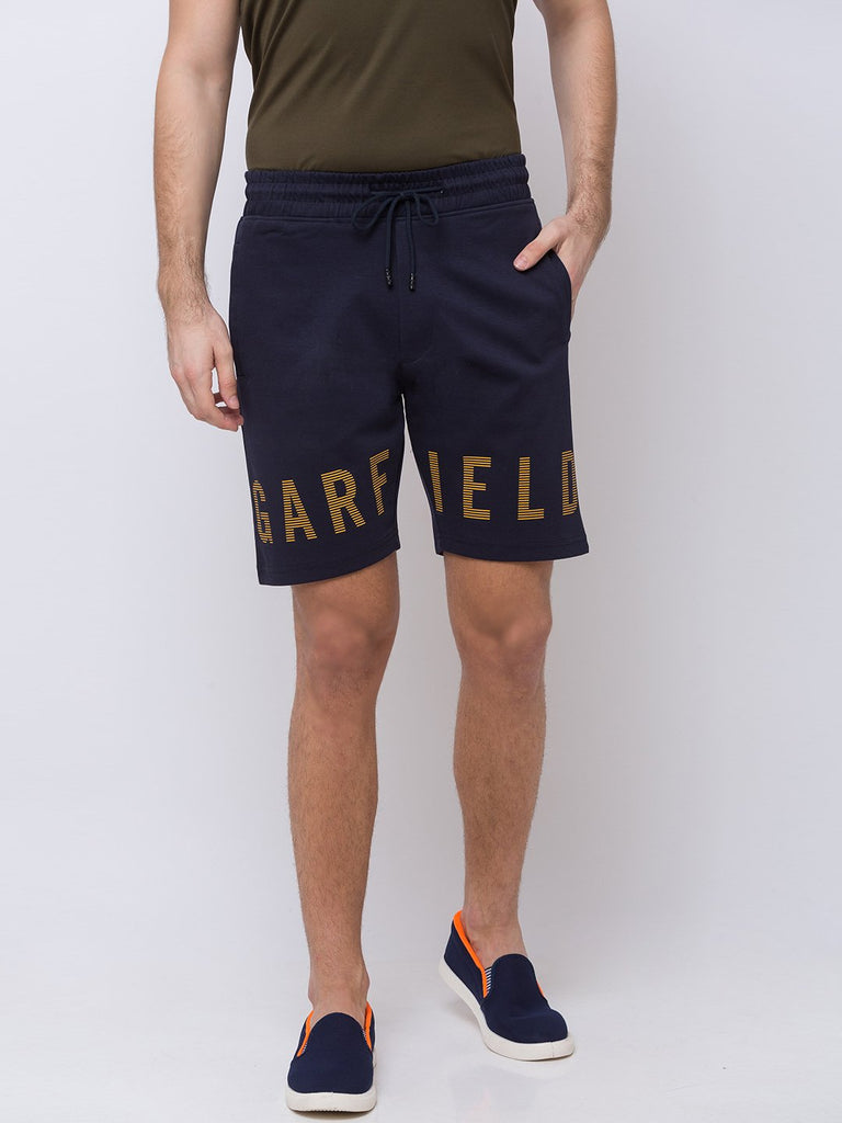 Status Quo |NAVY Prited Shorts - M, L, XL, XXL