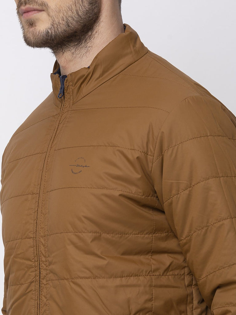Solid Reversible Quilted Jacket