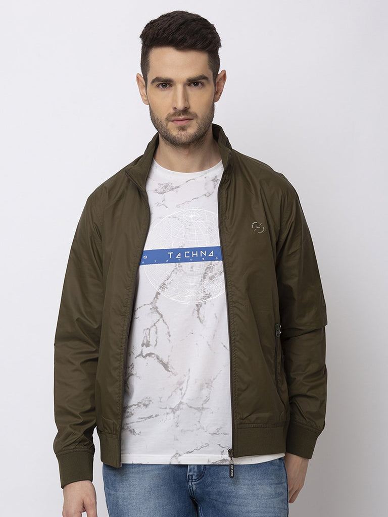 Status Quo |OLIVE High Neck Jacket - M, L, XL, XXL