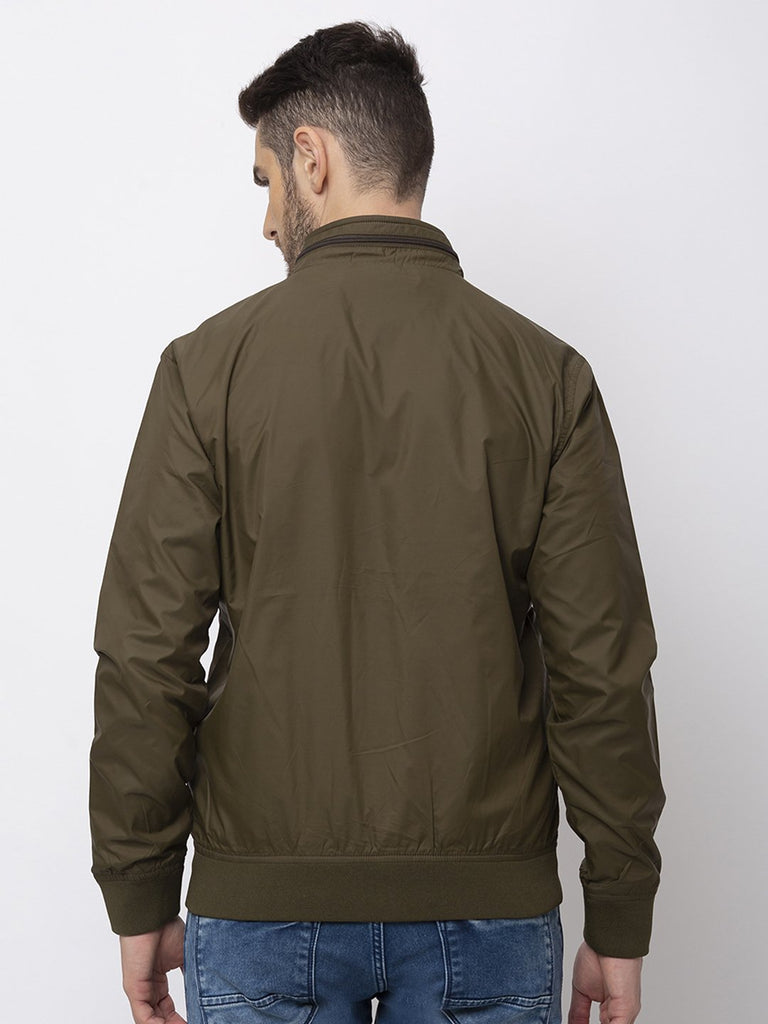 Solid Full Sleeves Jacket