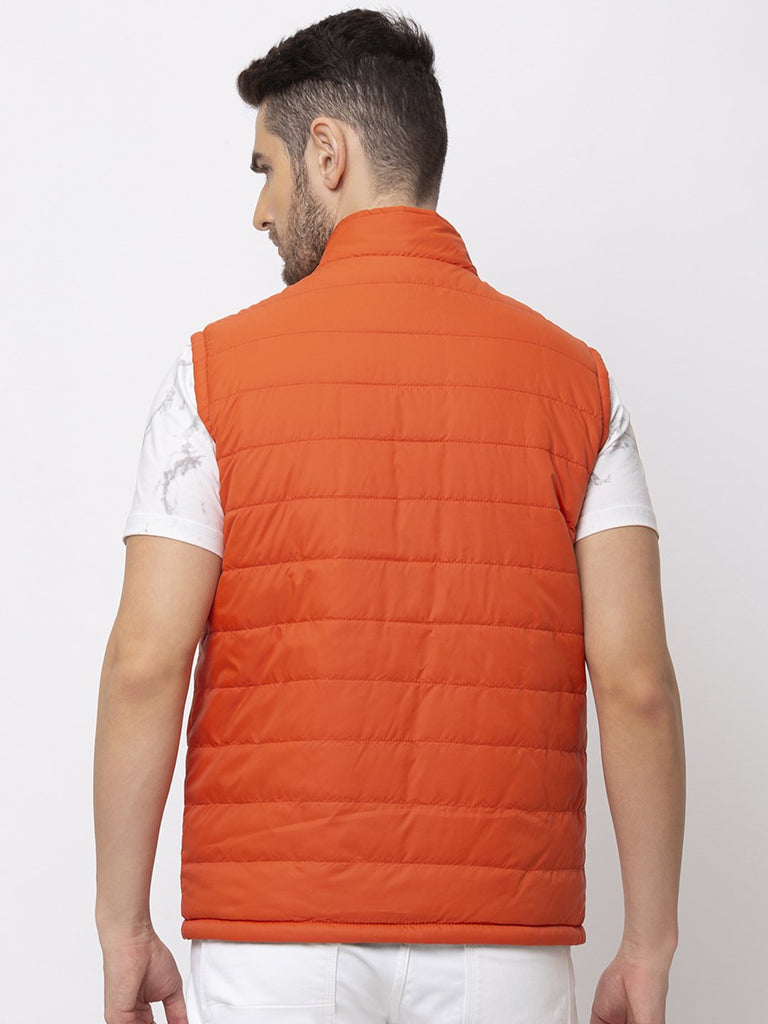 Solid Quilted Reversible Jacket