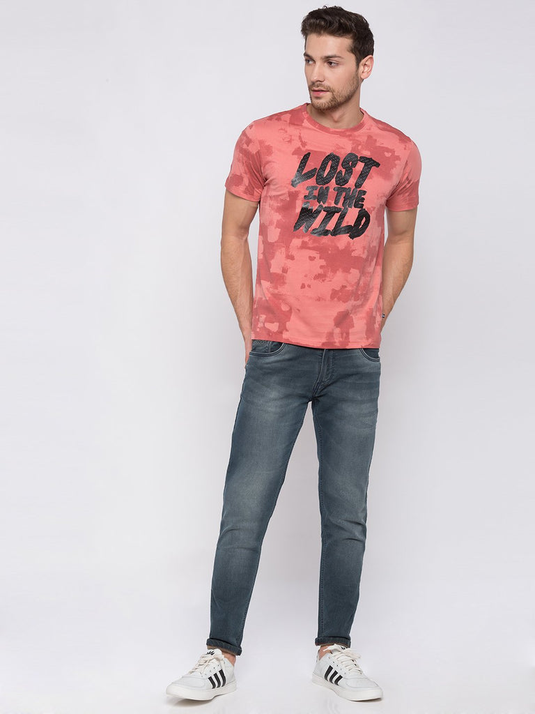 Tie Dye Cotton T-shirt