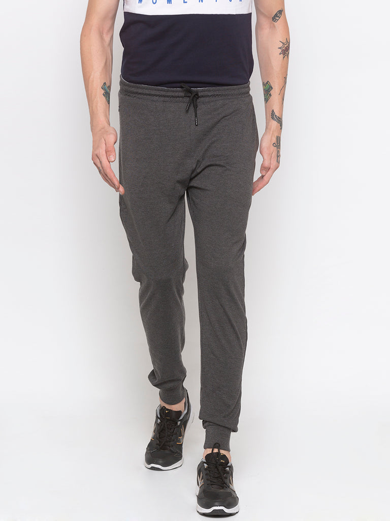 Regular Fit Grey Jogger Pant