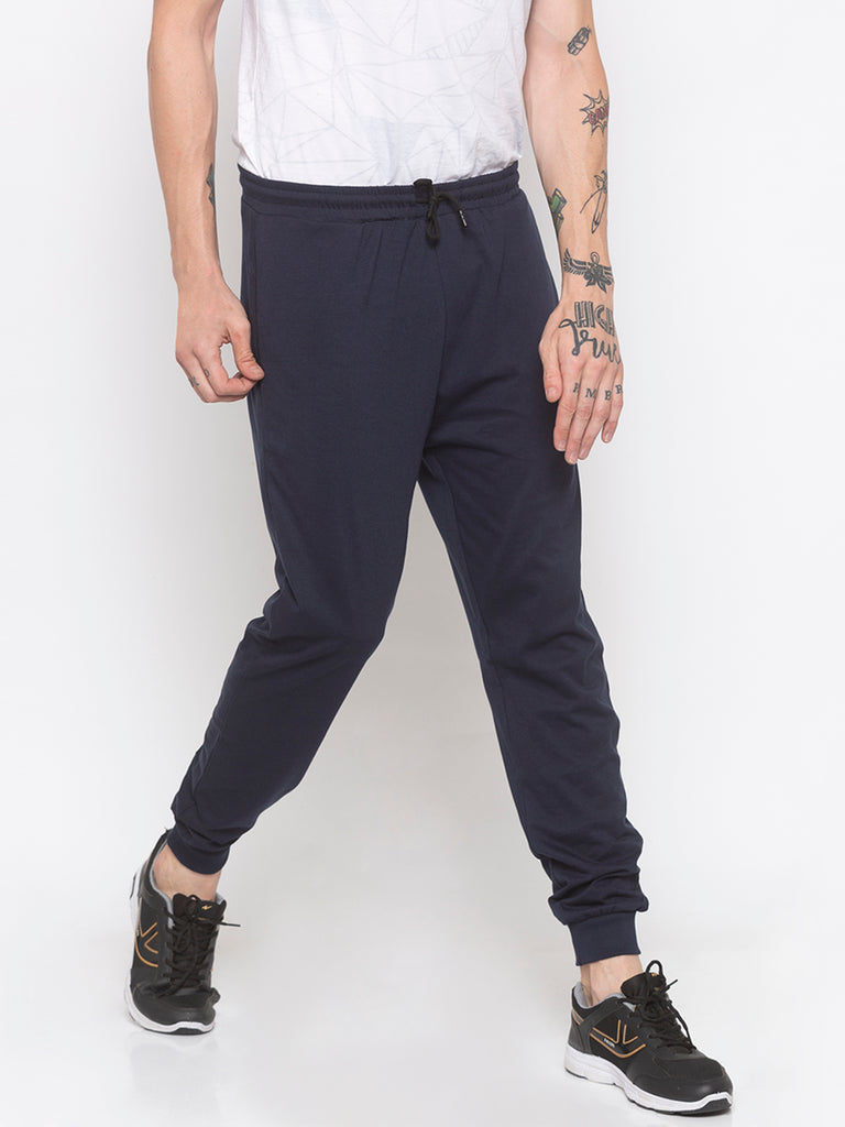Regular Fit Navy Jogger Pants