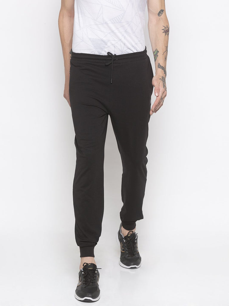 regular fit Black Jogger Pant